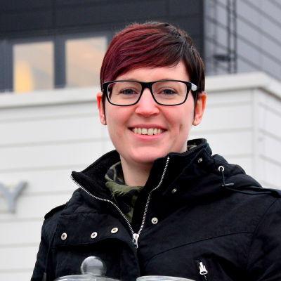 Josefin Stolpe, informatör på Westenergy