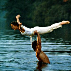 Patrick Swayze och Jennifer Grey i filmen Dirty Dancing 1987.