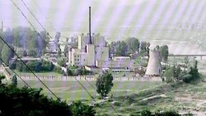 Sydkoreansk tv visade år 2008 bilder av kärnforskningsanläggningen i Yongbyong