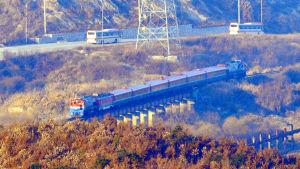 Sydkorea är intresserat av att modernisera järnvägen i Nordkorea och tågförbindelsen till Nord- och Sydkoreas gemensamma industripark Kaesong i södra Nordkorea har redan byggts om