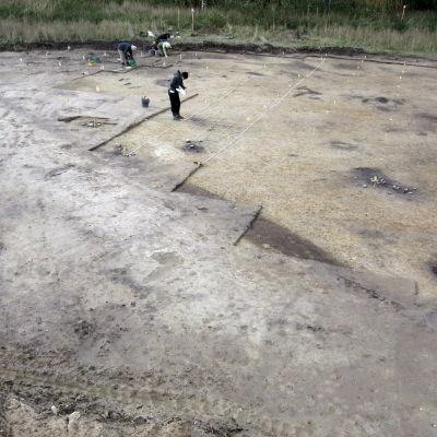 Helsingfors universitet har utfört utgrävningar vid Läppträsk i Karis.