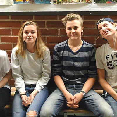 Elever i Grundskolan Norsen.