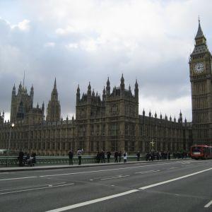 Engelska parlamentshuset och Big Ben