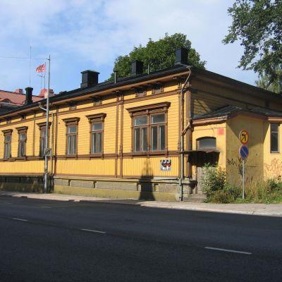 Det Strandellska huset vid Eriksgatan 33 i Åbo