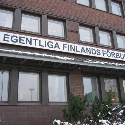 egentliga finlands förbund i åbo