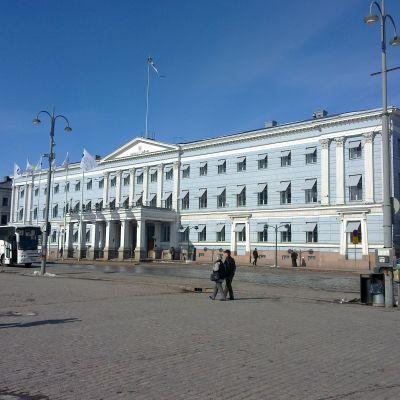 Stadshuset i Helsingfors.