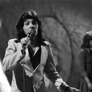 """Kirka televisio-ohjelmassa """"Kohti Edinburghia"""" (Eurovision laulukilpailu 1972, Suomen karsinta (loppukilpailu)."""