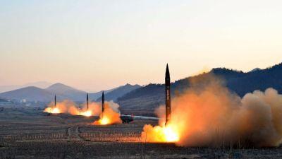 Nordkorea redo att slass mot usa