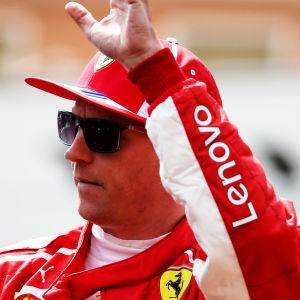 Kimi Räikkönen, Ferrari.