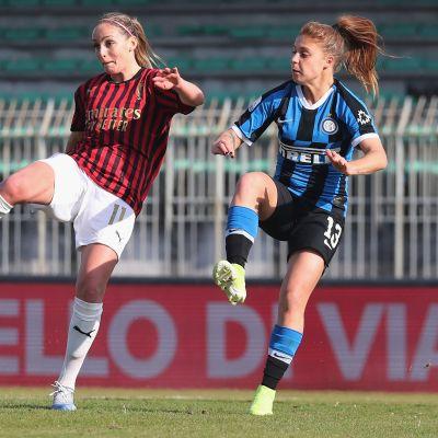 Nora Heroum Milan Inter