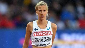 Camilla Richardsson i London.