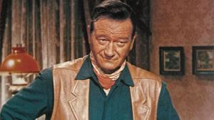 John Wayne elokuvassa Lännen hurjapäät
