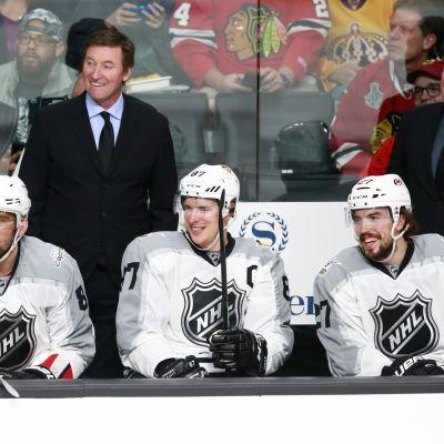 Alexander Ovetshkin Wayne Gretzky