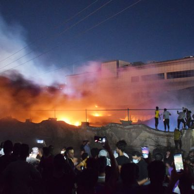 Kymmeniä kuolleita koronasairaalan palossa Irakissa