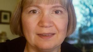 Porträtt på Marja Hämäläinen-Herjo.
