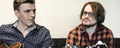 Janne Hyöty och Jerry Lindqvist
