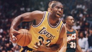 Magic Johnson lämnar Lakers.