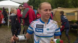 Amy Nymalm, junior-EM i orientering, Rumänien juni 2015.