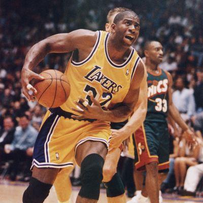 Magic Johnson lämnar Lakers.