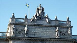 Svenska riksdagshuset.
