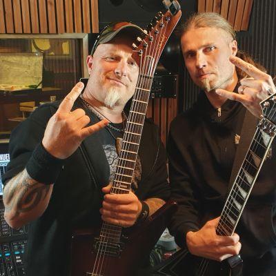 Morgan Vikne ja Antti Kokko