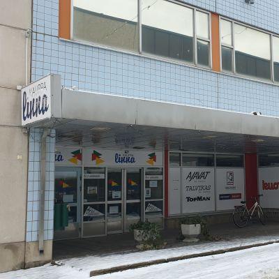 Autiotuva kauppakeskus Kauppalinna Savonlinnassa
