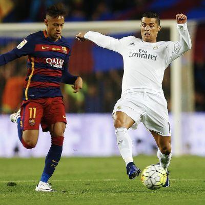Neymar ja Ronaldo La Ligan ottelussa