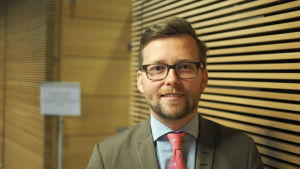 Ålands riksdagsledamot Mats Löfström