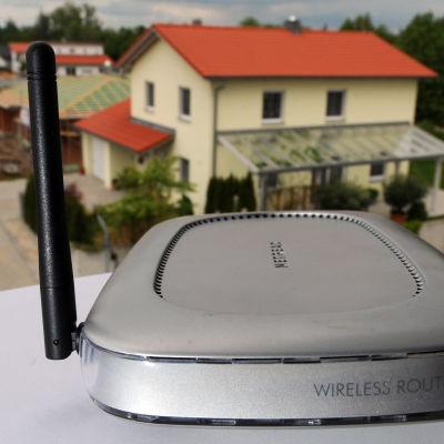 Trådlös router och modem