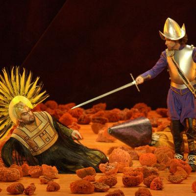 Kuva Jean-Philippe Rameaun oopperasta Galantit intiaanit (Les Indes galantes)