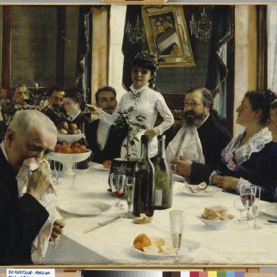 Gunnar Berndtsons målning Brudens visa