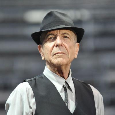 Leonard Cohen under firandet av sin 80-årsdag.