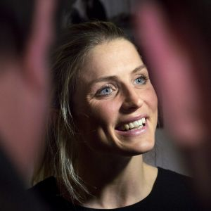 Therese Johaug won the athlete of the year award in Norway in early 2016.