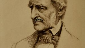 Den amerikanske filosofen Ralph Waldo Emerson.