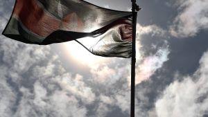 Kenyas flagga.