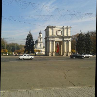 Moldavien, huvudstaden Chisinau