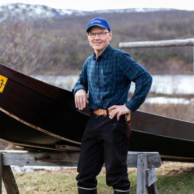 Väinö Guttorm ja Tenon vene