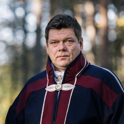 Saamelaiskäräjien 2020–2023 toinen varapuheenjohtaja Leo Aikio.