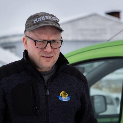 Nord1-Marketin kauppias Jari Kekäle