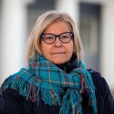 Utsjoen kunnanjohtaja Vuokko Tieva-Niittyvuopio.