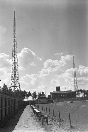 Lahtis radiomast, 1936
