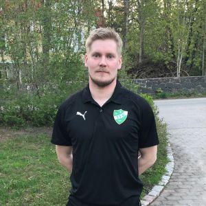 Ville Viljanen efter att han skrivit på för GrIFK våren 2019.