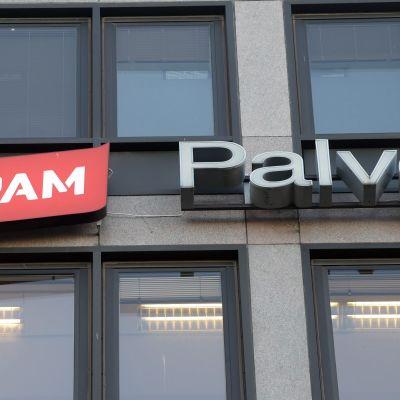 Logga för servicefacket (PAM).