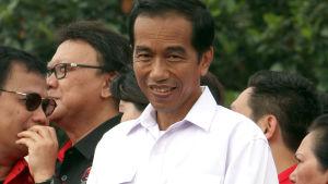 Indonesiens troliga nya president Joko Widodo