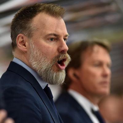 Rikard Grönborg har fört Tre Kronor till VM-semifinal mot Finland.