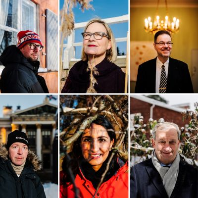 Helsingin pormestariehdokkaat.