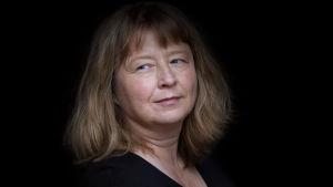 Carina Karlsson, poet, författare bosatt i Sund. 2014.