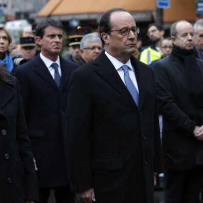 Uutisvideot: Pariisi muistaa terrori-iskun uhreja