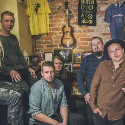 Jonas and I -yhtye ja Marco Hietala.