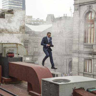Daniel Craig som James Bond i SPECTRE.